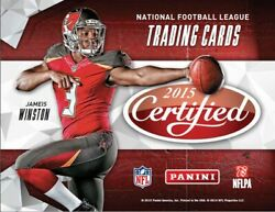 2015 Panini Certified Football - Insert - Parallel - Numbered - Pick Your Card -