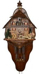 Cuckoo Clock Timber Haulage To The Rafts In The Kinzigtal 5.8861.01.p New