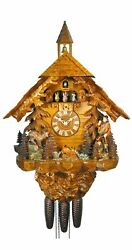 Cuckoo Clock Black Forest House 5.8863.01.p New