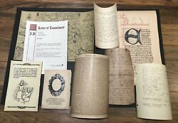 Shadowhunters Original Map Of Eden And Letters And Posters Bundle
