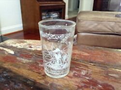 Antique 1953 Howdy Doody Welch's Jelly Glass Hey Kids On Land Or Sea