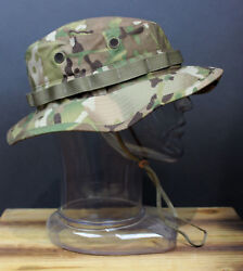 OCP Multicam Tactical Boonie Hat Military Camo Bucket Wide Brim Sun Fishing Cap $17.95