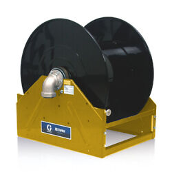 Graco 24r553 Xd80 1-1/2 Inlet/outlet Bare Reel Npt 24v Electric Motor Yellow