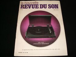 La Nouvelle Revue Du Sonmay 1983french Audio Mag.°68°accuphase C280