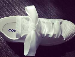 Custom shoes designed just for you! Bridal sneakers with sparkle and shine!