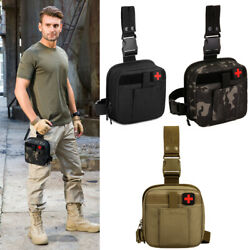 Tactical Outdoor Drop Leg Waist Bag Emergency Medical Tool Pouch Military Pack