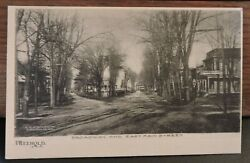 Rare 1906 Broadway And East Main St. Monmouth Co Freehold New Jersey Nj Post Card