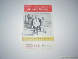 Virginia Military Institute Alumni Review Fall 1956 Free Us Shipping