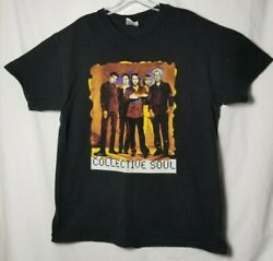 Vintage 90s Collective Soul Dosage Tour Concert T Shirt Two Sided Large
