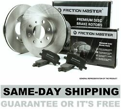 Front Brake Rotors and Metallic Pads fits 2000 2001 CHRYSLER NEON