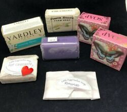 Luxury Bar Soap Assortment - Pooch And Sweetheart, Yardley, Pre` De Provence