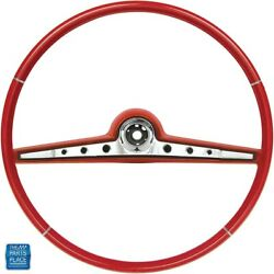 1962 Impala Steering Wheel Kit Red Standard And Ss