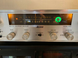 Allied Knight 333 Tube Stereo Receiver Amplifier Pioneer Sx-34 Mint Led