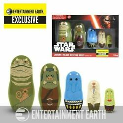 Disney Star Wars Jabba's Palace Nesting Dolls - Entertainment Earth Exclusive