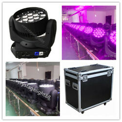 19x15w Led Rgbw Wash Zoom Dmx512 Moving Head Light With Road Case