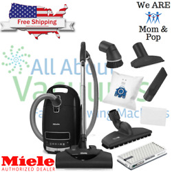 Miele Complete C3 Kona Powerline Canister Vacuum - Hard Floors And All Carpeting