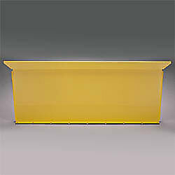 Ford Truck Short Flareside F-100 Front Bed Panel 1951 - 1972 W/mounting Hardware