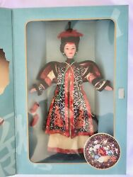 1996 Chinese Empress Collectors Edition Barbie Doll Mattel 16708andnbsp