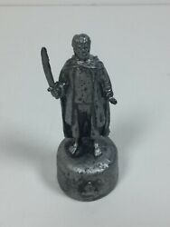 Lotr Lord Of The Rings Chess Fellowship Edition Piece/figure Silver Frodo Bishop