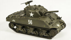 RC TANK 1:16 scale real M4A3 105mm. Sherman painted &modify detail 6.0steel gear
