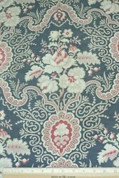 Antique French Printed Cotton Indienne Style Frame Layout Fabric C188030x31
