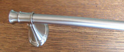 Brushed Nickel 20quot; Towel Bar Un used Never Installed Includes Wall Hardware NEW
