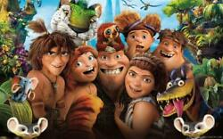 5D Diamond Painting Kits The Croods Character Cross Stitch Full Drill Decoration