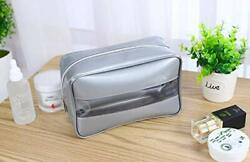 Toiletry Bag Organizers for Traveling Waterproof Clear Cosmetic Bag Large size,S $5.90