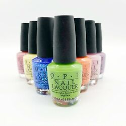 Opi Nail Lacquer Full Size 0.5 Oz / 15 Ml New Pick One Color Of Your Choice