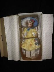 Shirley Temple Little Colonel 18 Porcelain Doll By Elke Hutchens W/ Box