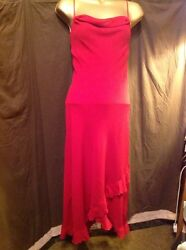 Opulent Sexy Lady In Red Dress Size 12 By Whisper New With Tags Fully Lined