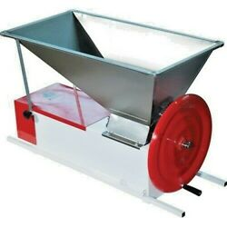 Italian Crusher Destemmer - Manual Stainless Easy-to-clean Grapes Fall Through