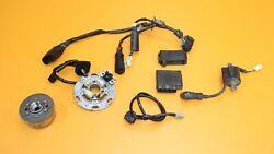 2006 06-21 Yz250 Yz 250 Electrical System Cdi Stator Flywheel Ignition Coil Wire