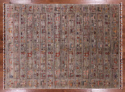 Gabbeh Hand Knotted Rug 5and039 9 X 7and039 10 - Q2931