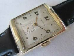 Longines Small Second 17 Jewels Hand Winding Vintage Watch 1940and039s Overhauled