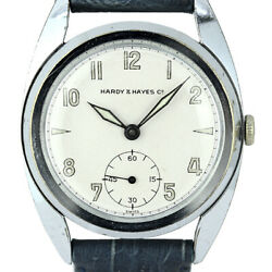 Mimo Hardyandhayes Antique Small Second Manual Winding 17 Jewels Men's Watch