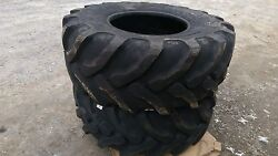 2 New Camso/solideal Backhoe Tires Sla R4 - 21lx24 - 21l-24 - 21x24-heavy Duty