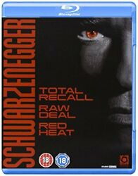 Schwarzenegger Collection Total Recall/red Heat/raw Deal [blu-ray] [dvd]