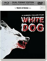 White Dog Masters of Cinema Dual Format Edition Blu ray DVD 1982
