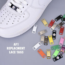 AF1 REPLACEMENT LACE TAGS LOCKS AIR FORCE ONES DUBRAES BUY 2 GET 1 FREE $5.99