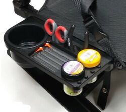 Cup And Tool Holder For Millennium Marine Boat Seats. No Drilling Required