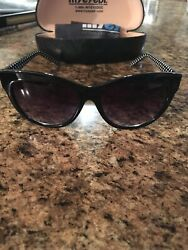 Sydney Love Sun Glasses with hard clamshell case NEW  $19.99