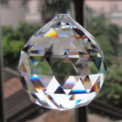30mm100pc Clear Chandelier Glass Crystal Lamp Prisms Parts Hanging Drops Pendant