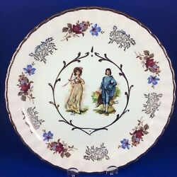 """Wood And Sons Avon Pinkie And The Blue Boy 10"""" Ironstone Cabinet Plate"""
