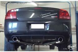Fox Duplex System From Cat Dodge Charger Srt8 0 1/32x3 15/16in Angled With Abs