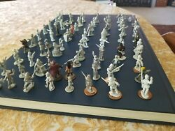 180 Vintage Figurines Toy Soldiers Various Brands + Horses And Other Animals
