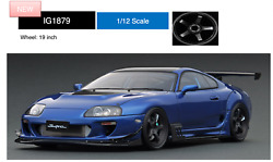 Ignition 1/12 Toyota Supra JZA80 RZ Blue IG1879 Pre Order on March 2020