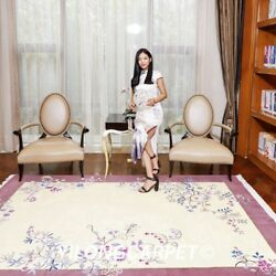 Yilong 6and039x9and039 Home Decor Handmade Wool Carpet Chinese Art Deco Floral Area Rugs
