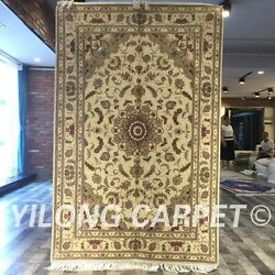 Clearance Yilong 4and039x6and039 Handmade Wool Rug Home Decor Blanket Woolen Carpet 2058