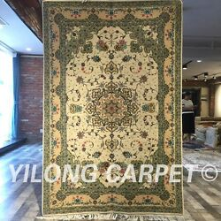 Clearance Yilong 4and039x6and039 Home Handmade Wool Rug Blanket Woollen Carpet 2062